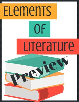 Literary Elements Posters By Everything For Ells Tpt