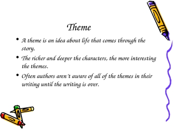 Literary Elements PowerPoint