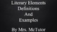 Literary Elements Powerpoint - The Ones You Need to Know!