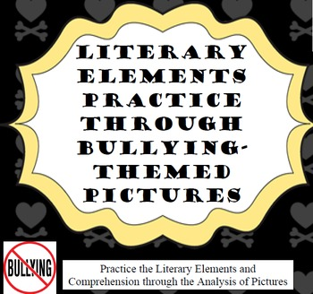 Literary Devices Worksheets - Bullying Themed