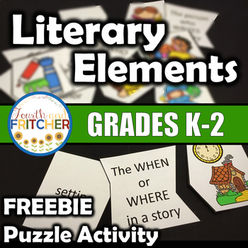 Literary Elements Puzzle Activity {FREEBIE}