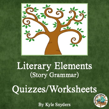 Literary Elements Quizzes and Worksheets