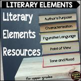 Literary Elements Resource Binder