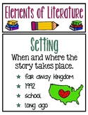 Elements in Literature Resource Posters