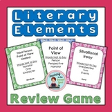 Literary Elements Review Game Editable