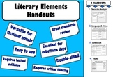 Literary Elements Review Plan – Versatile for most books