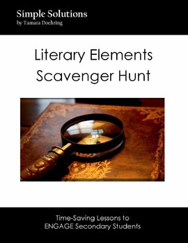 Literary Elements Scavenger Hunt