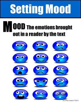 Literary Elements Setting Mood Poster
