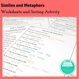Similes and Metaphors Worksheets
