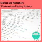 Similes and Metaphors Worksheets
