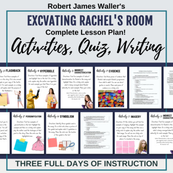 Literary Elements Stations Activity