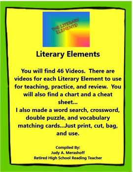 Literary Elements Supplemental Activities