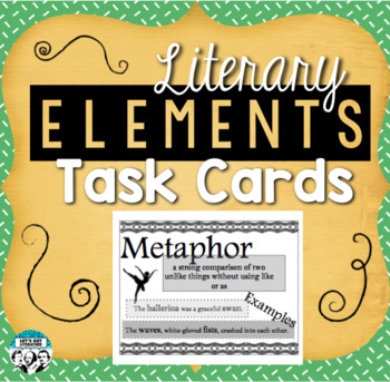Literary Device Task Cards