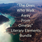 Literary Elements; The Ones Who Walk Away From Omelas; Bundle Package 1