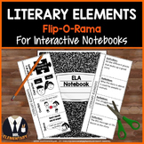 Literary Elements Vocabulary Interactive Notebook