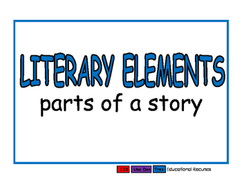 Literary Elements blue