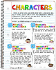 The Interactive Notebook-Literary Elements BUNDLE
