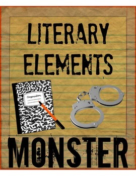 Literary Elements in Monster by Walter Dean Myers