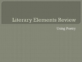 Literary Elements in Poetry