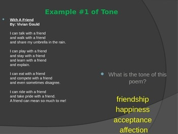 Literary Elements in Poetry PowerPoint Presentation