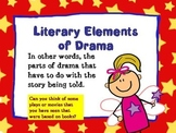 Literary Elements of Drama PowerPoint