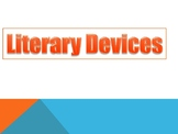 Literary Elements or Devices PowerPoint