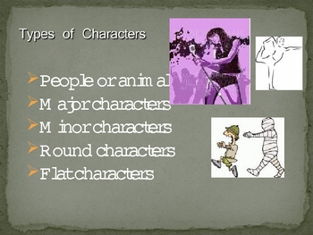 Literary Elements/Elements of the Short Story  20 Slide PP