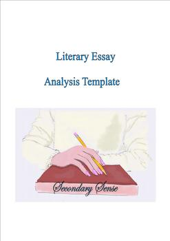Literary Essay Analysis Template