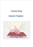 Literary Essay Analysis Template