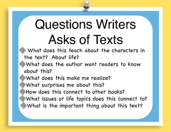 Literary Essay Anchor Chart