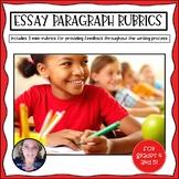Literary Essay - Body Paragraph Rubric
