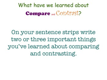 Literary Essay - Building the Muscles to Compare and Contrast