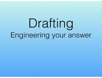 Literary Essay Drafting and Revising (final draft will be only one paragraph)