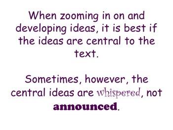 Literary Essay - Elaborating on Written Ideas Using Prompts
