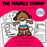 Literary Essay Exemplar - The Marble Champ