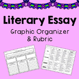 Literary Essay Planner & Rubric