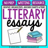 Literary Essay Graphic Organizers