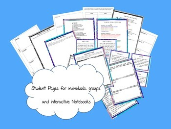 Friendship and Social Skills Unit with Literary Essay and Interactive Notebook