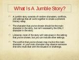 Literary Essay Jumble Story!