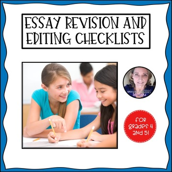 Literary Essay Revision and Editing Checklist