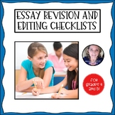 Literary Essay Revision and Editing Checklists