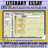 Literary Essay Writing: DIGITAL Interactive Notebook