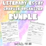 Literary Essays Graphic Organizer BUNDLE!