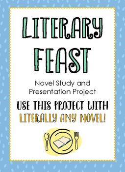 Literary Feast - Oral Book Presentation - Fun! - Choice Reading - Editable!