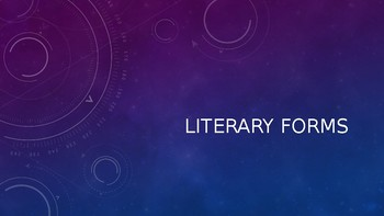 Literary Forms