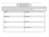 Literary Genre Book Sort Worksheet