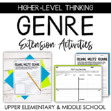Literary Genre Extension Activities for Gifted/Advanced Learners