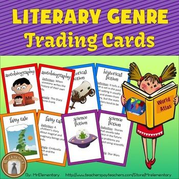 Literary Genre Flashcards