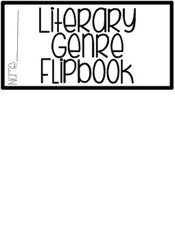 Literary Genre Interactive Flipbook