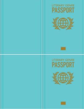 Literary Genre Reading Passports